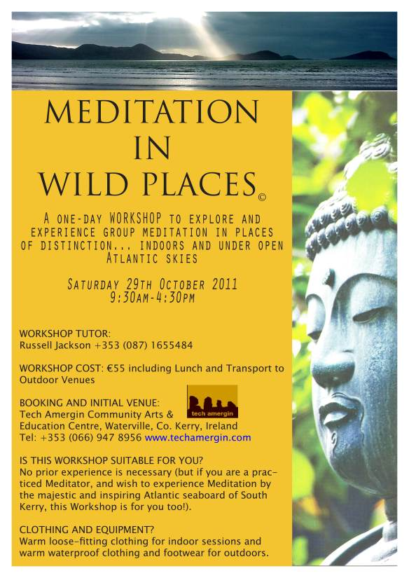 Poster - Meditation in Wild Places 20111000