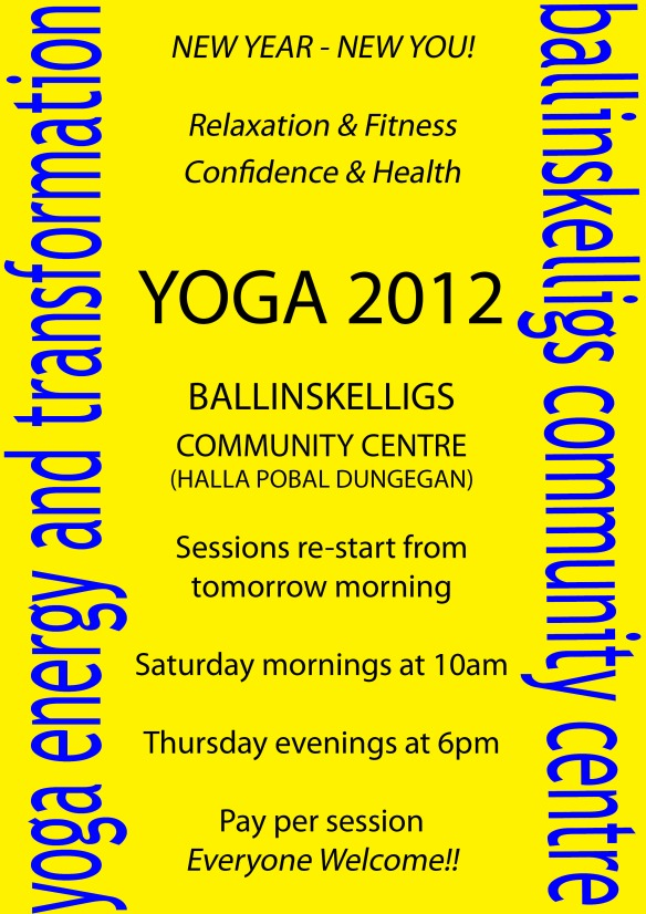 Yoga - energy & transformation... Sessions 2012