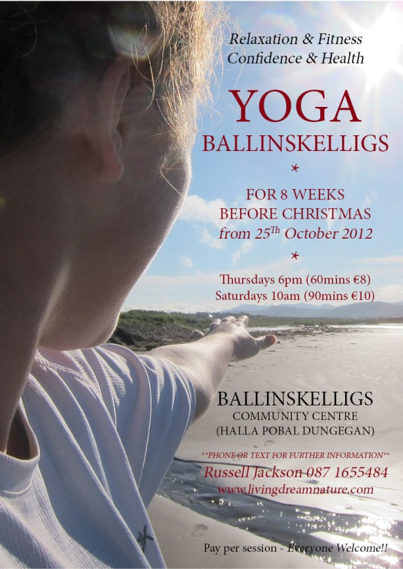 Yoga Ballinskelligs Autumn 2012